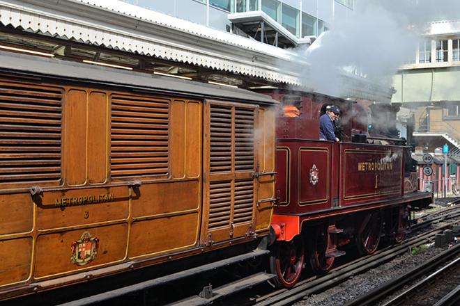 Metropolitan Steam Locomotive No. 1