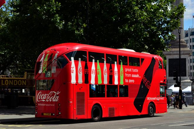 Coca Cola Routemaster